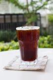 Café noir de glace, americano Image stock