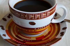 Café noir de matin Image stock