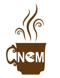 Café NOM Imágenes de archivo libres de regalías