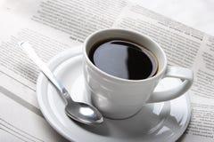 Café, notícia foto de stock