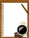 Café note2 ilustração royalty free