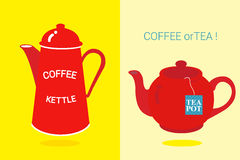 Café o té Fotografía de archivo libre de regalías