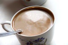Café oleoso imagens de stock