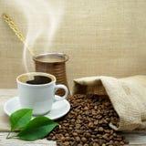 Café organique de mélange Photos stock
