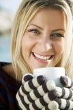 Café ou thé chaud image stock