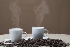 Café para dois Imagens de Stock Royalty Free