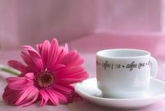 Café para mi tarjeta del día de San Valentín Imagen de archivo libre de regalías