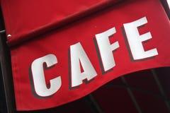 Café in Paris Lizenzfreie Stockfotos