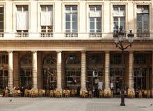 Café parisiense Imagen de archivo libre de regalías