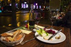Café parisiense Fotografia de Stock Royalty Free
