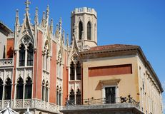 Café Pedrocchi en Padua en el Véneto (Italia) Foto de archivo