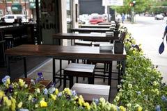 Café pela borda da estrada Fotografia de Stock Royalty Free