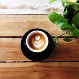 Café pendant le matin Photo libre de droits