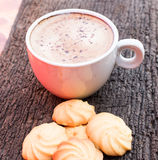 Café pendant le matin Images stock