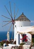Café perto do moinho de vento Imagens de Stock