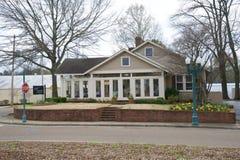 Café Piazza dans Collierville, TN Images stock