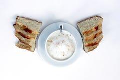 Café plat d'âme Image stock
