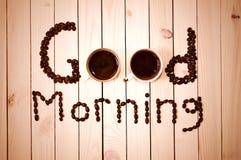Café por la mañana foto de archivo libre de regalías