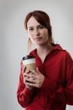 Café potable Photographie stock libre de droits