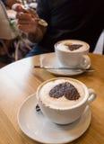 Café pour deux Images stock