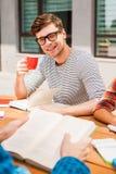 Café pour l'inspiration d'étude Images stock