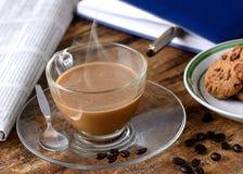 Café pour le petit déjeuner Photos libres de droits