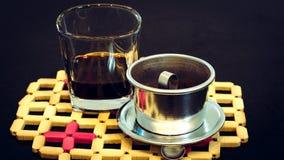 café preto de Vietnam imagens de stock