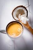 Café a prueba de balas Foto de archivo libre de regalías