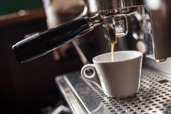 Café que faz a máquina Fotos de Stock