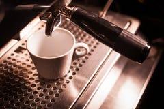 Café que faz a máquina Foto de Stock Royalty Free