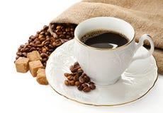 Café quente. Imagem de Stock