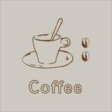Café quente Ilustração Royalty Free
