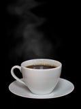 Café quente com vapor Imagens de Stock