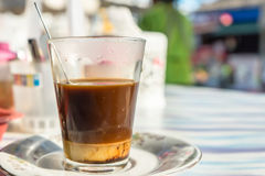Café quente da tradição tailandesa Fotos de Stock