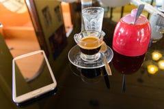 Café quente do café Imagens de Stock Royalty Free