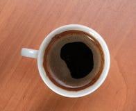 Café quente do copo fotos de stock