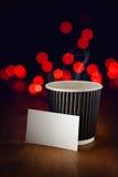 Café quente do feriado imagens de stock royalty free
