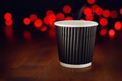 Café quente do feriado fotografia de stock royalty free