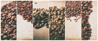 Café quente Turco do café e copo do café quente com feijões de café Imagens de Stock Royalty Free