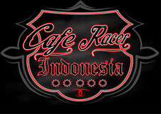 Café racer2 Fotos de archivo libres de regalías