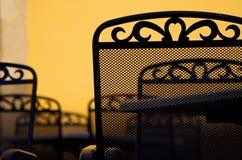 Café-restaurant Photographie stock libre de droits