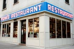Café-restaurant de Seinfeld Images libres de droits
