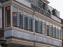 Café, restaurante e barra do globo de Shakespeare foto de stock royalty free