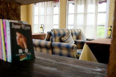 Café-restaurants photos libres de droits
