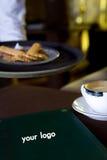 Café-restaurants photographie stock
