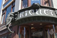 Café Riquet Imagens de Stock Royalty Free