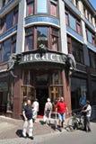 Café Riquet, Leipzig Foto de Stock