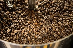 Café roasted de mistura Imagem de Stock Royalty Free