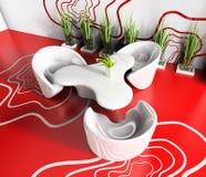 Café rouge illustration stock