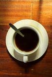 Café sólo de la visión superior. Imágenes de archivo libres de regalías